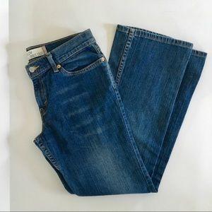 Levi's superlow bootcut jeans 9